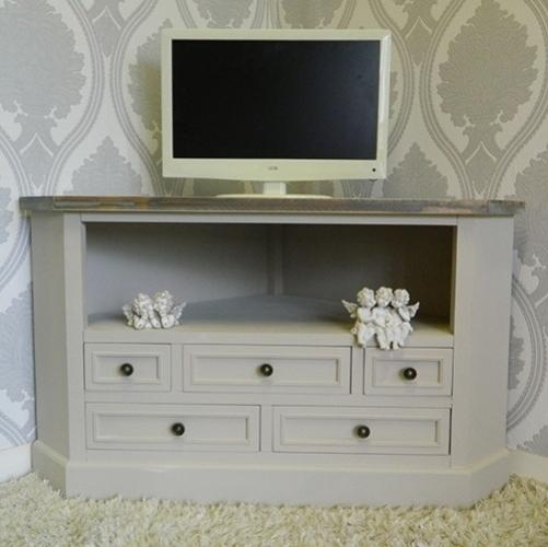Shabby Chic Tv Cabinets – Shabby Chic Tv Unit Throughout 2018 Shabby Chic Corner Tv Unit (Image 9 of 20)