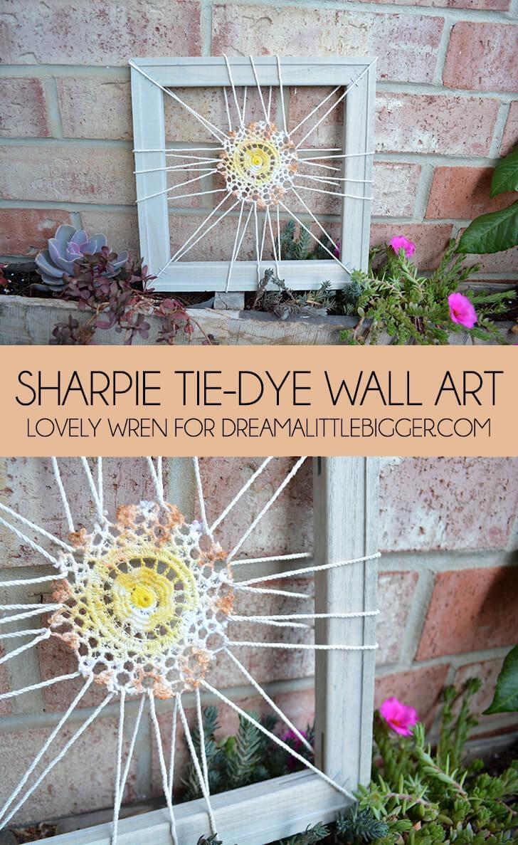 Sharpie Tie Dye Wall Art Regarding Sharpie Wall Art (Image 15 of 20)