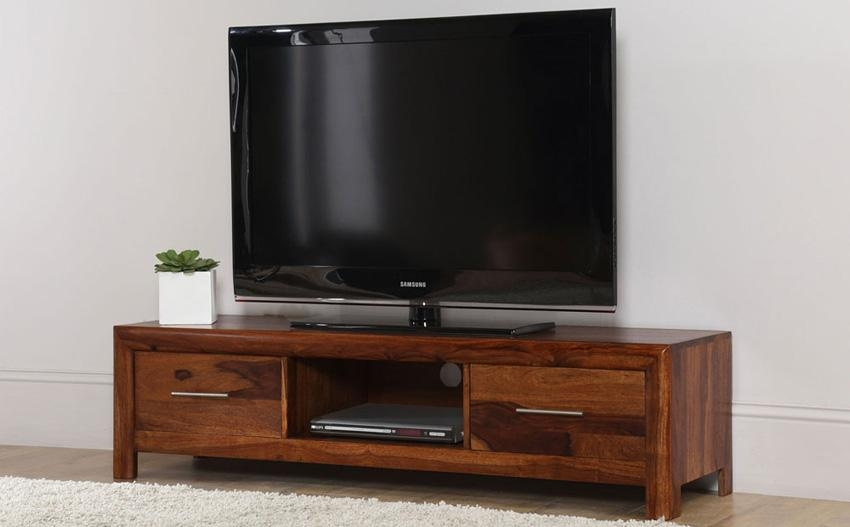Sheesham Tv Cabinet | Mf Cabinets Intended For Most Popular Sheesham Wood Tv Stands (View 20 of 20)