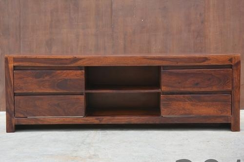 Sheesham Wood Tv Cabinet At Rs 10500 /piece | Lakdi Ka Tv Stand Intended For Most Popular Sheesham Wood Tv Stands (View 13 of 20)
