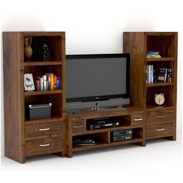 Sheesham Wood Tv Cabinet Prague – Rightwood Furniture In Most Recent Wooden Tv Cabinets (Image 13 of 20)
