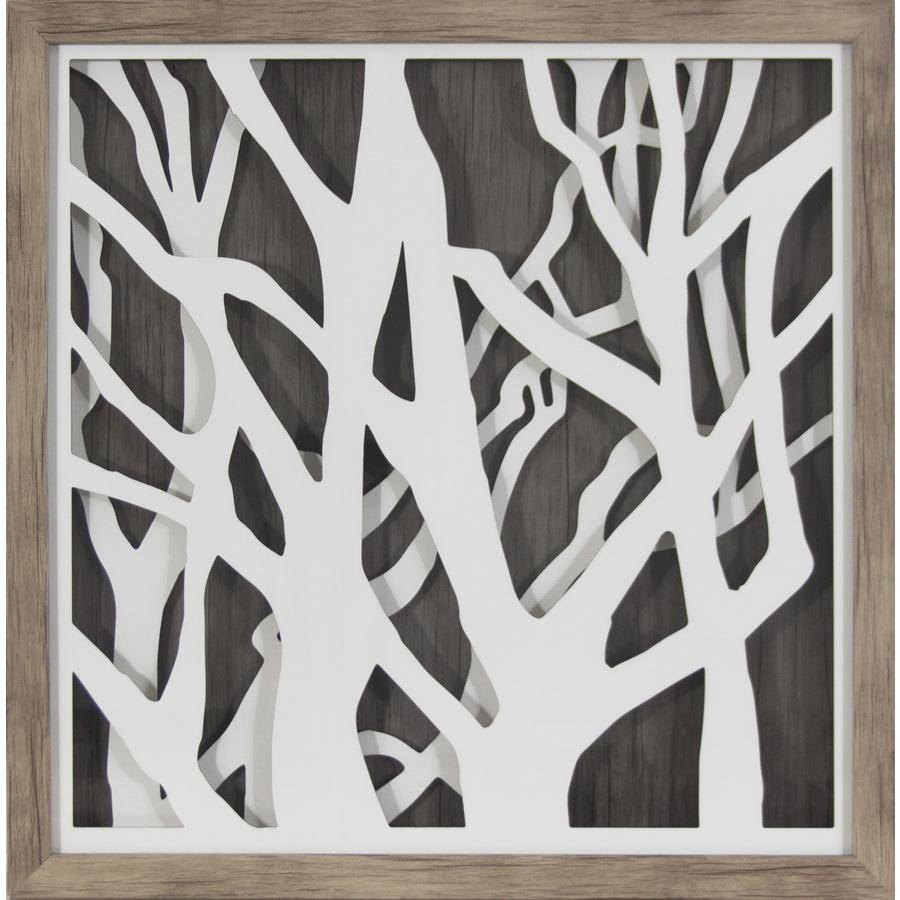 Shop Wall Art At Lowes Intended For Copper Oak Tree Wall Art (View 20 of 20)