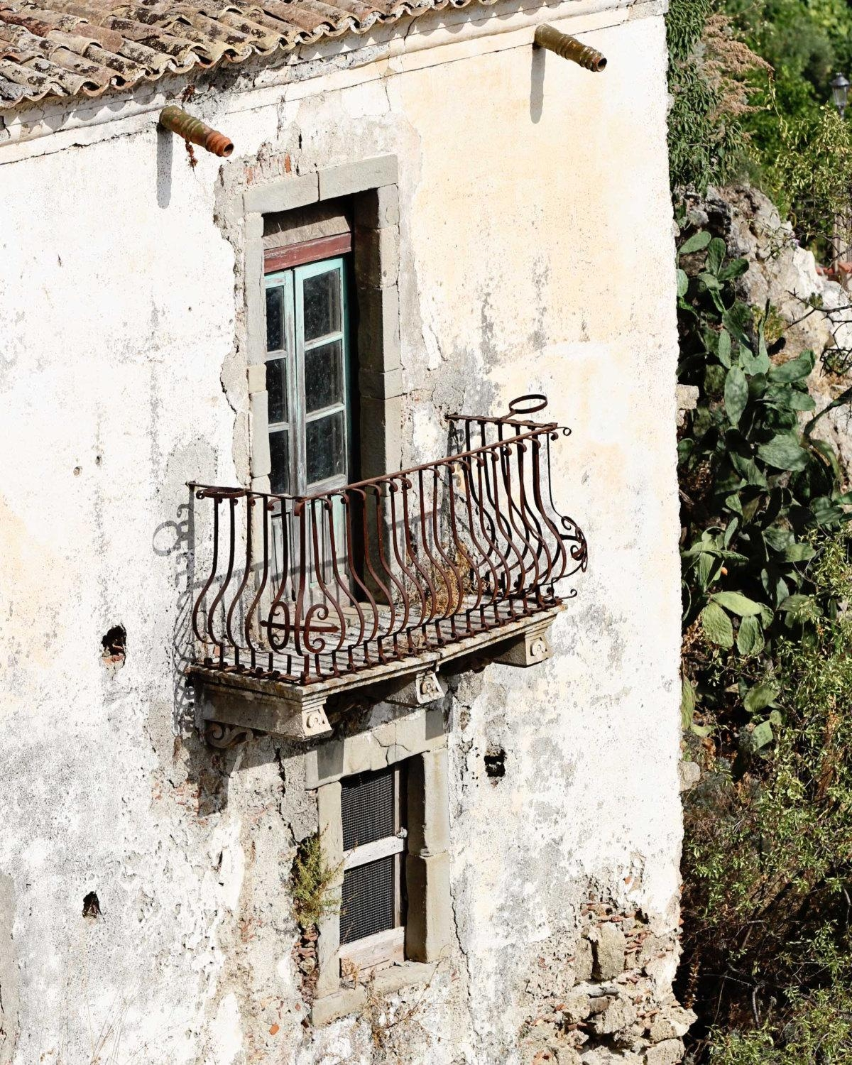 Sicily Italy Photography – Balcony Print – Rustic Italian Decor Inside Rustic Italian Wall Art (Image 12 of 20)