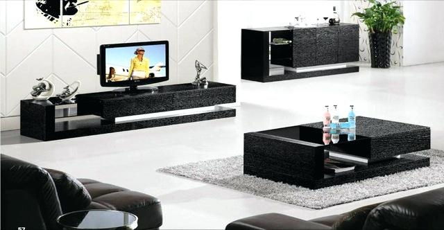 Side Table ~ Tv Side Table Led Tv Side Table Tv Stand And Side Throughout 2017 Coffee Table And Tv Unit Sets (Image 13 of 20)