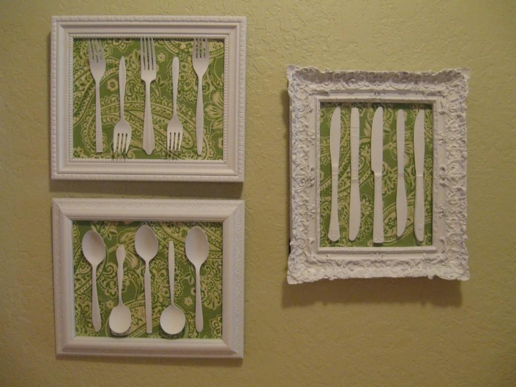 Silverware Wall Art | Creativity Collective Within Silverware Wall Art (View 2 of 20)