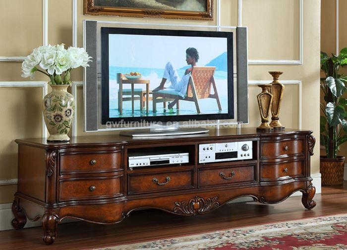 20 photos antique style tv stands tv cabinet and stand ideas. Black Bedroom Furniture Sets. Home Design Ideas
