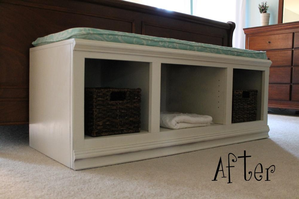 Sittin' Pretty – My Sweetnest Intended For Most Current Bench Tv Stands (View 5 of 20)