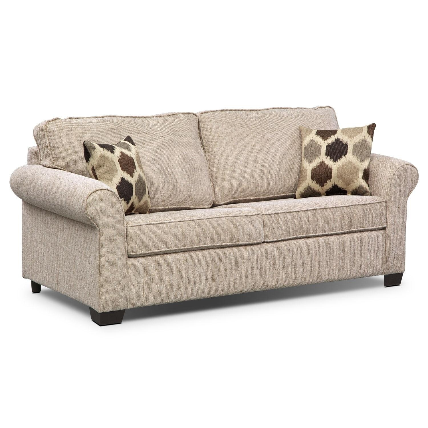 Sleeper Sofas | Value City Furniture | Value City Furniture With Full Size Sofa Sleepers (View 21 of 21)