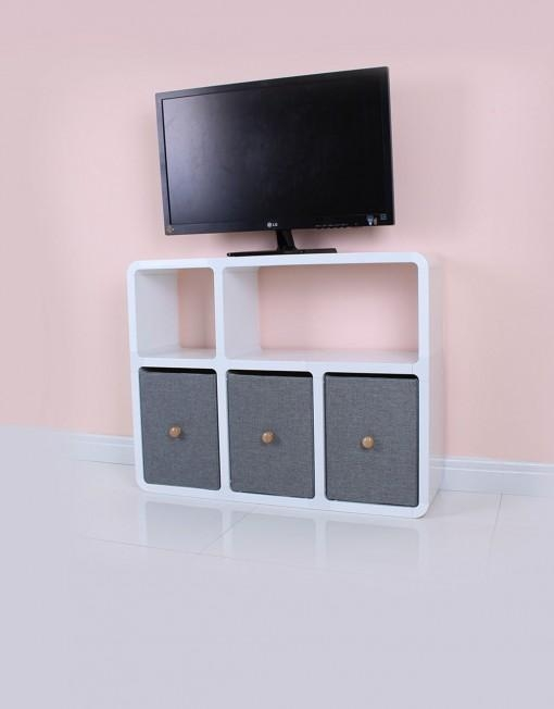 Slim Tv Stand 6 – Made For Modern Thin Tvs |Expand In Most Up To Date Slim Line Tv Stands (Image 17 of 20)