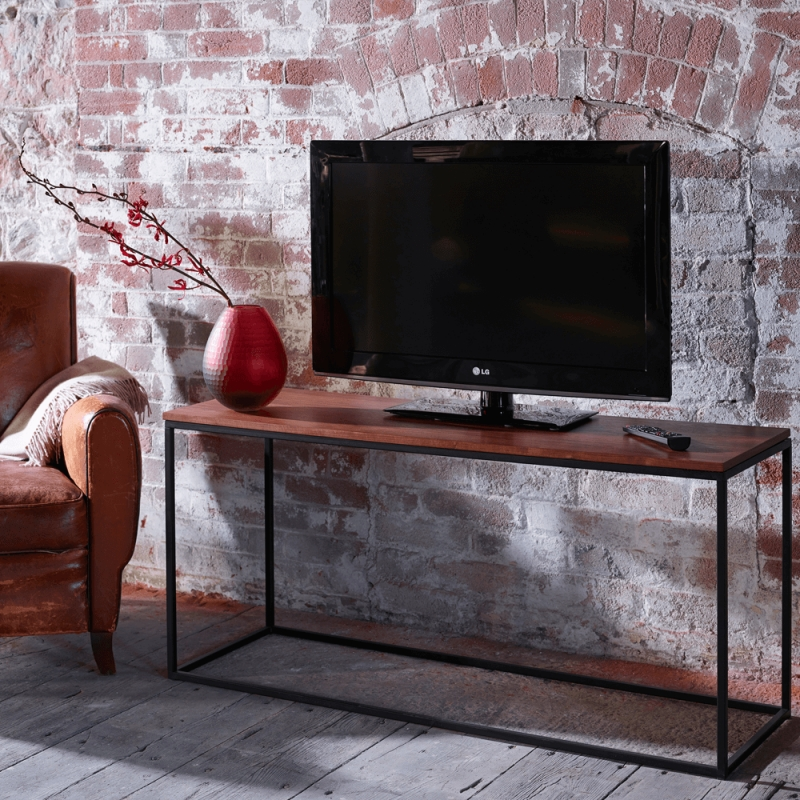 Slimline Retro Tv Stands – Marble, Walnut And Glass | Buy Online For Newest Slim Line Tv Stands (View 11 of 20)