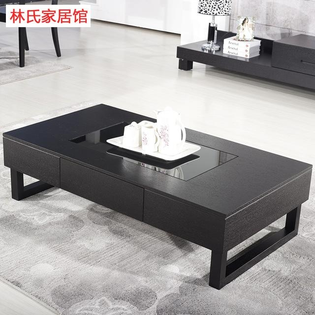 Small Apartment Ikea Coffee Table Tv Cabinet Matching Black Oak With Regard To Best And Newest Matching Tv Unit And Coffee Tables (Image 17 of 20)