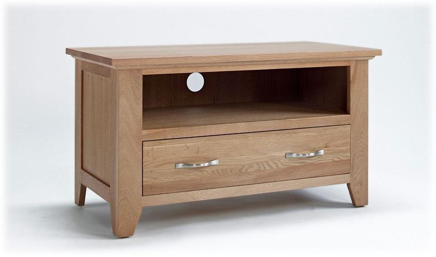 Small Oak Tv Unit – Sherwood Oak Range With Latest Small Oak Tv Cabinets (View 9 of 20)