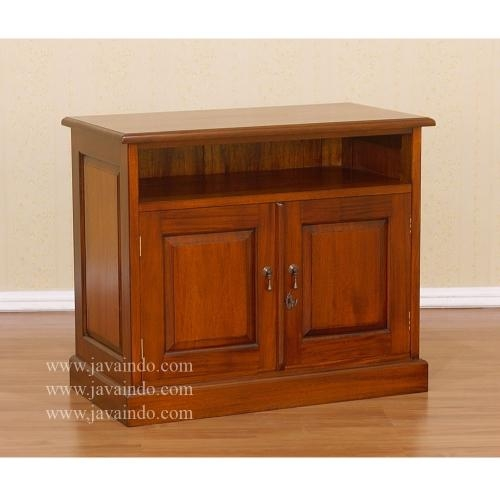 Small Tv Cabinet With Shelf | Wooden Tv Cabinet | Antique Furniture Intended For Most Up To Date Small Tv Cabinets (View 10 of 20)