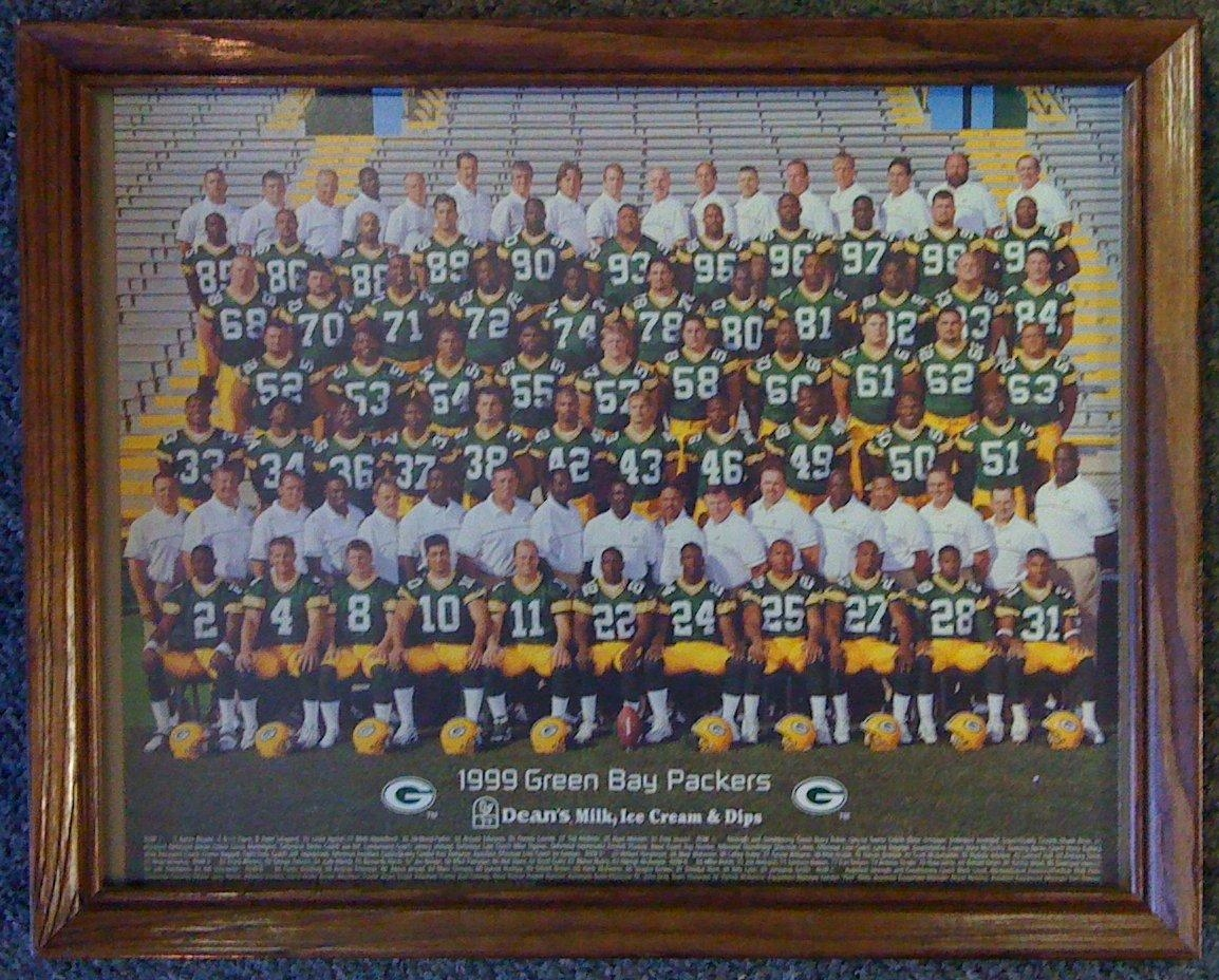 Smncc :: Football :: Posters, Prints :: Green Bay Packers 1996 With Green Bay Packers Wall Art (Image 17 of 20)