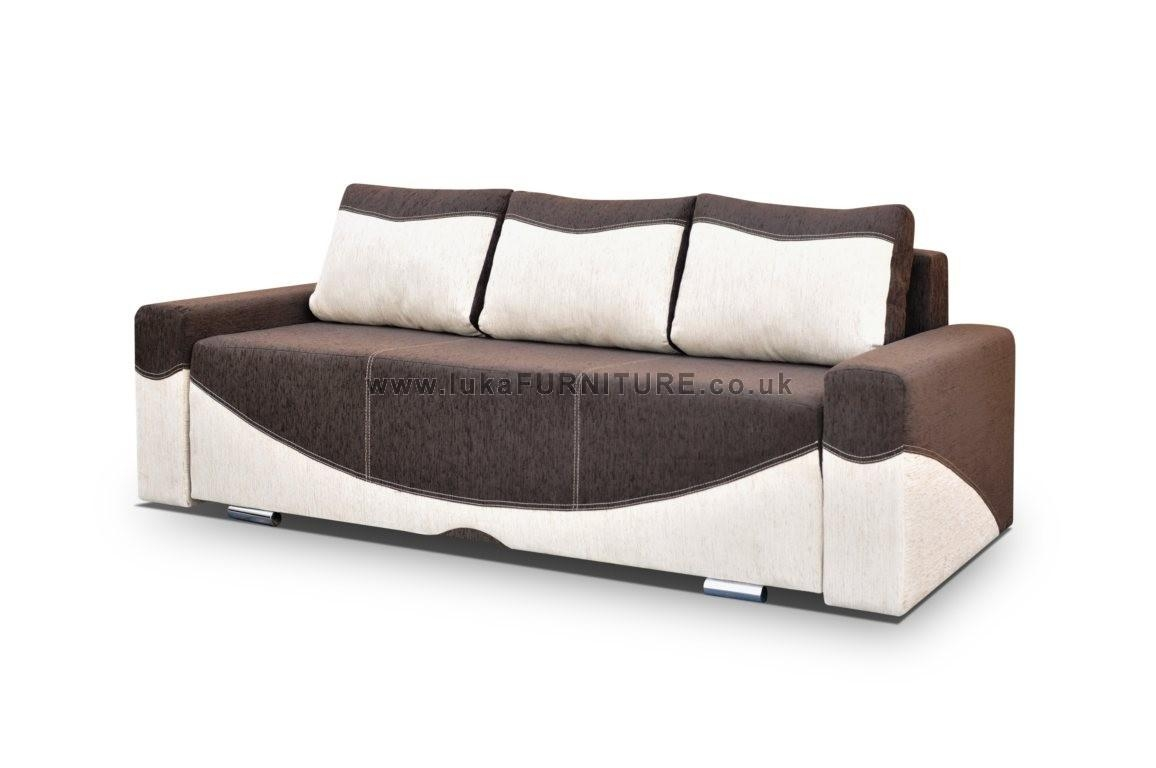 Sofa Bed London, Sofa With Armchair, Chair, Pouf, Puffe – Pay On Within Storage Sofa Beds (View 17 of 20)