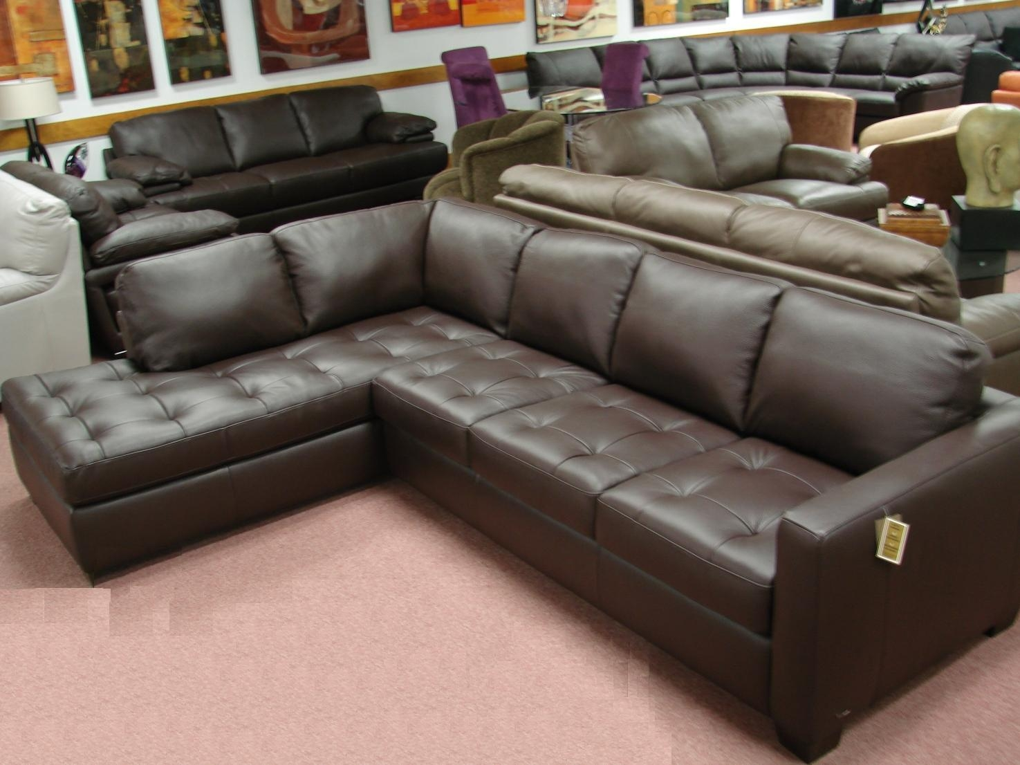 20 ideas of leather sofa sectionals for sale sofa ideas for Leather sofas for sale