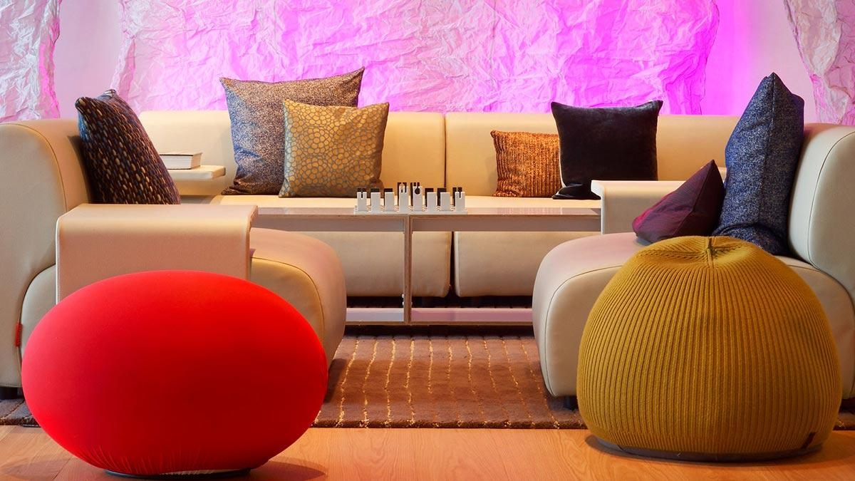 Sofa, Cushions, W Hotel, Barcelonaricardo Bofill Within Sofa Cushions (View 15 of 21)
