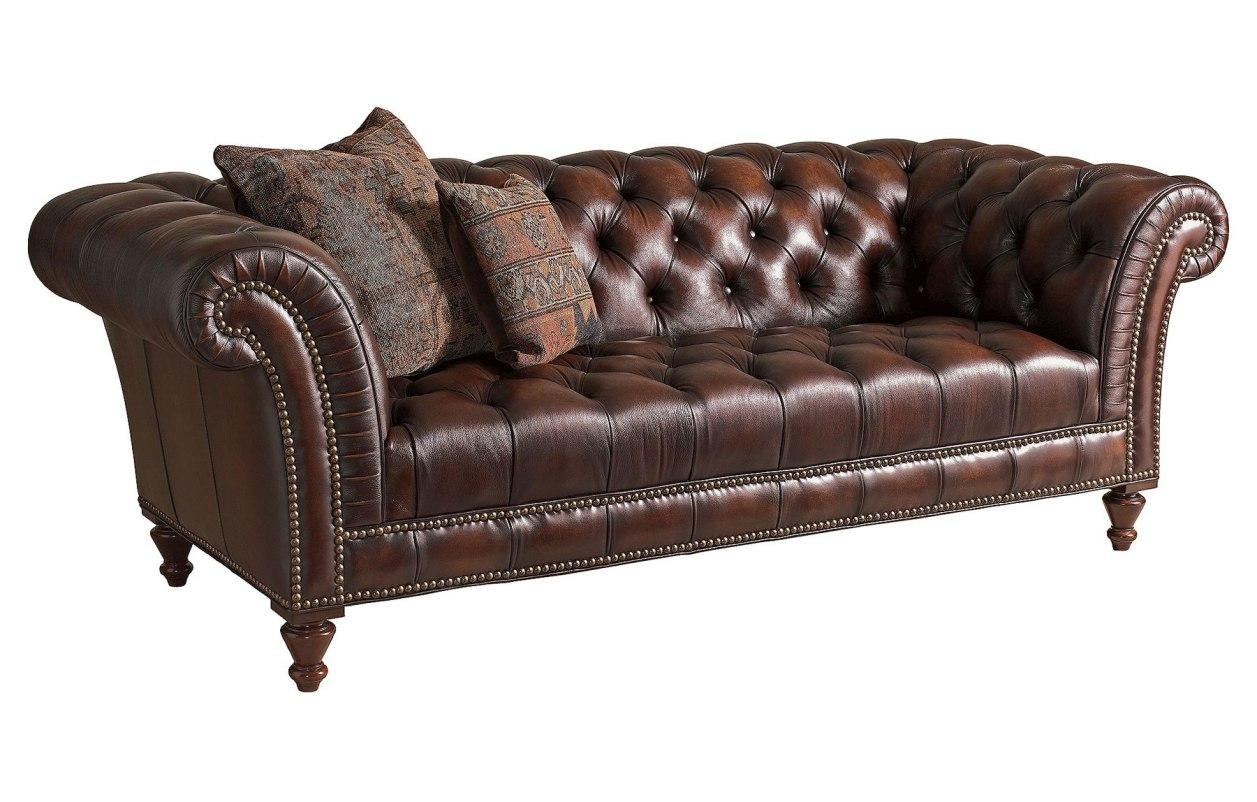 Sofa : Distressed Brown Leather Sectional Sofa (Image 8 of 20)