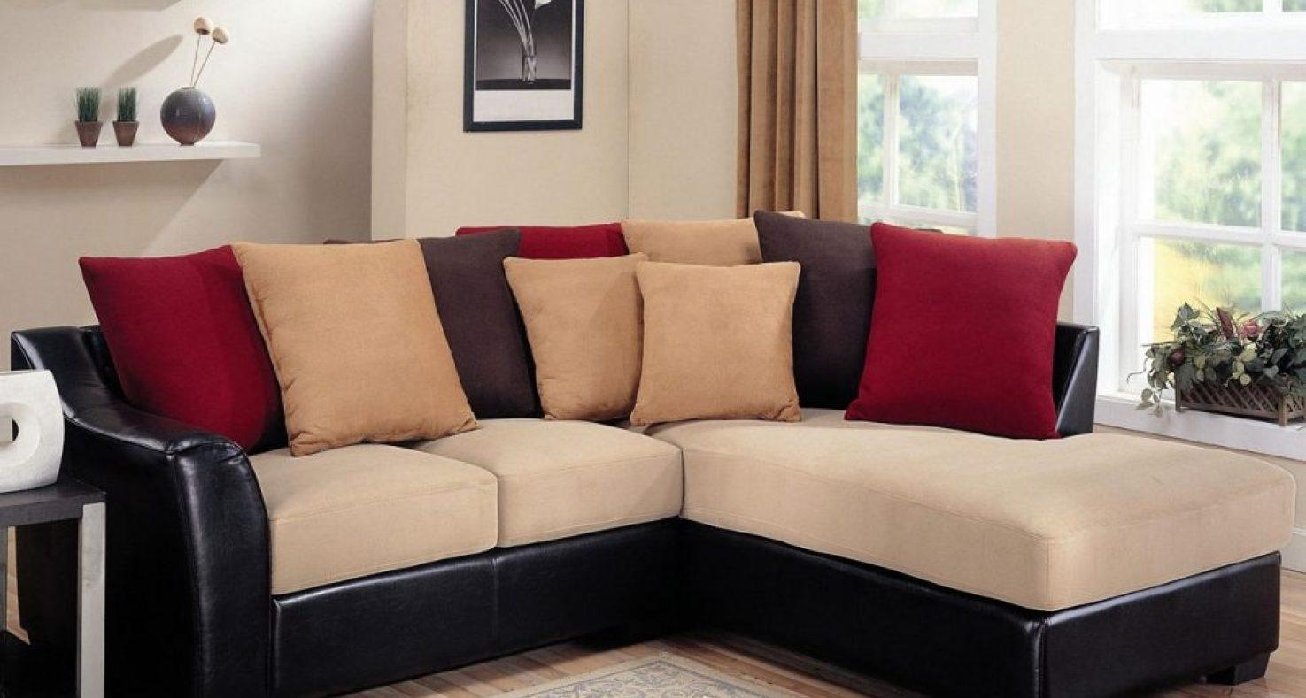Sofa : Distressed Brown Leather Sectional Sofa (Image 14 of 20)