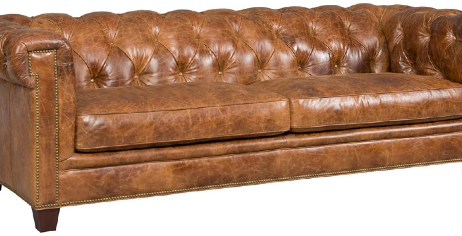 Sofa : Distressed Brown Leather Sectional Sofa (Image 13 of 20)