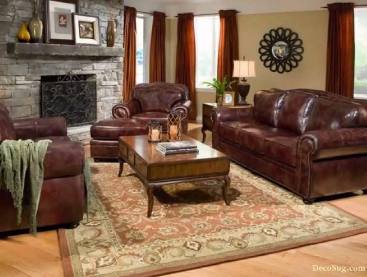 Sofa : Distressed Brown Leather Sectional Sofa (Image 16 of 20)