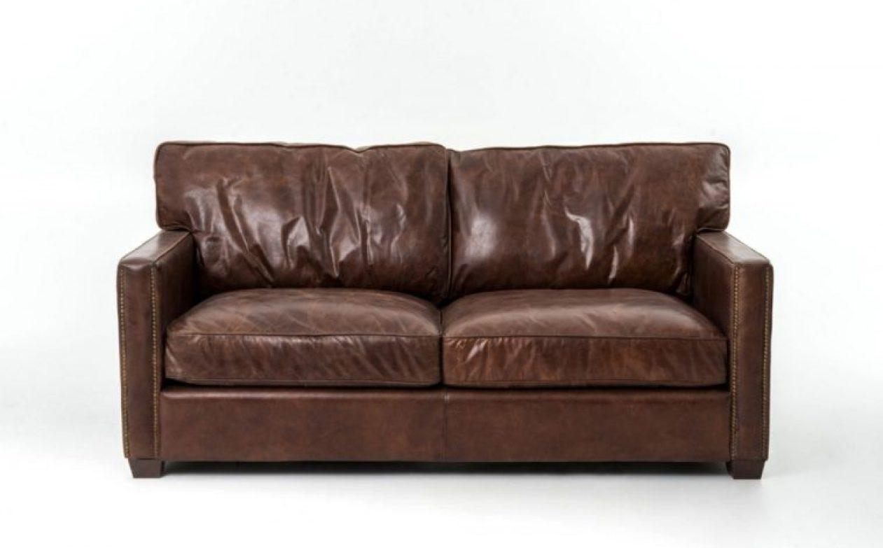 Sofa : Distressed Brown Leather Sectional Sofa (Image 15 of 20)