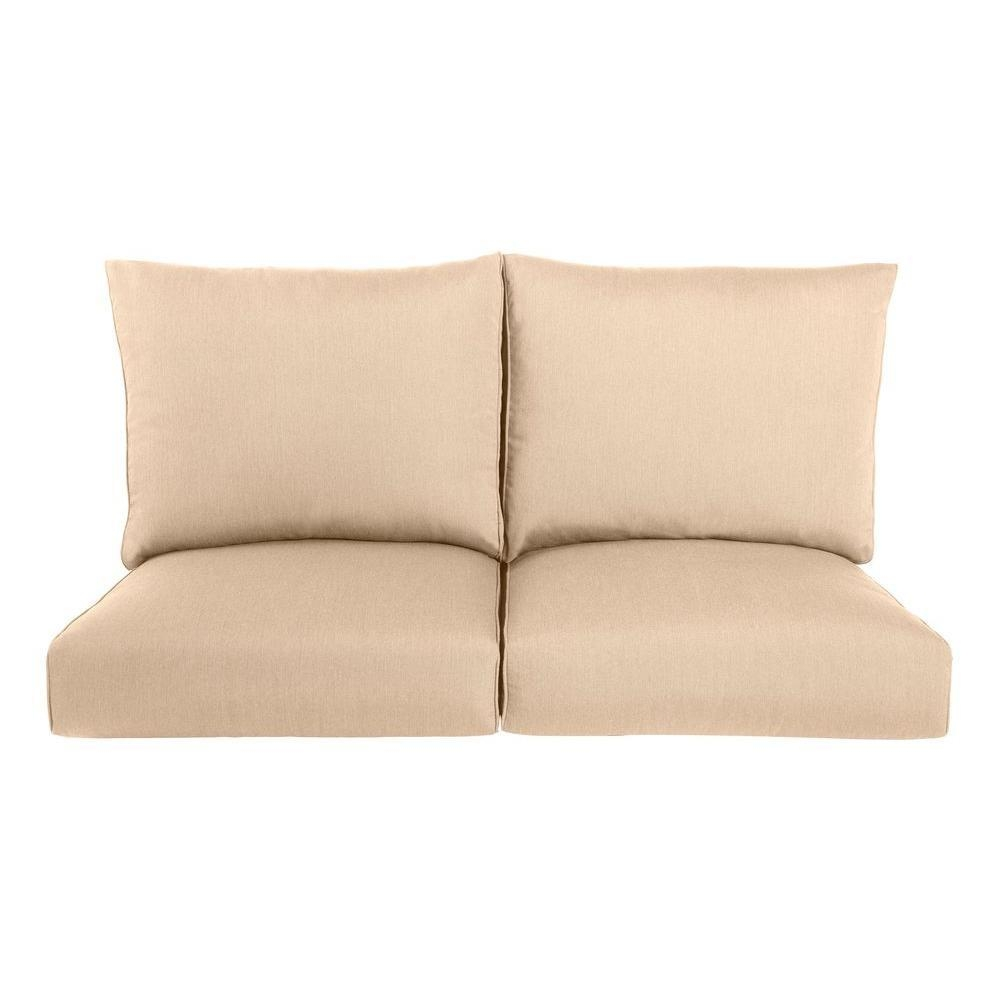 Sofa & Loveseat Cushions – Outdoor Cushions – The Home Depot With Sofa Cushions (Image 19 of 21)