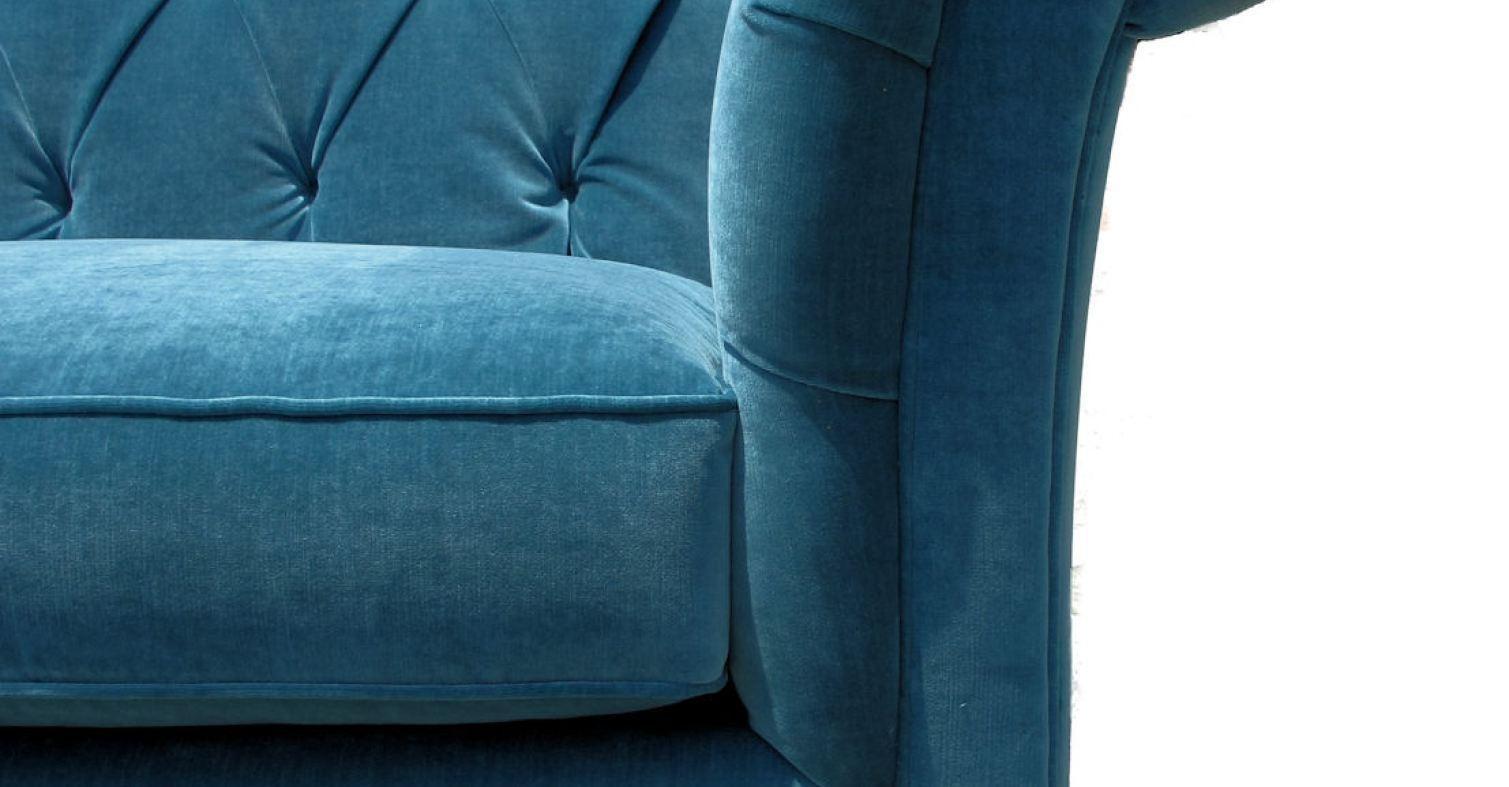 Sofa : Navy Blue Tufted Sofa Busting Sofa Cleaner Rental' Give With Blue Tufted Sofas (Image 15 of 22)