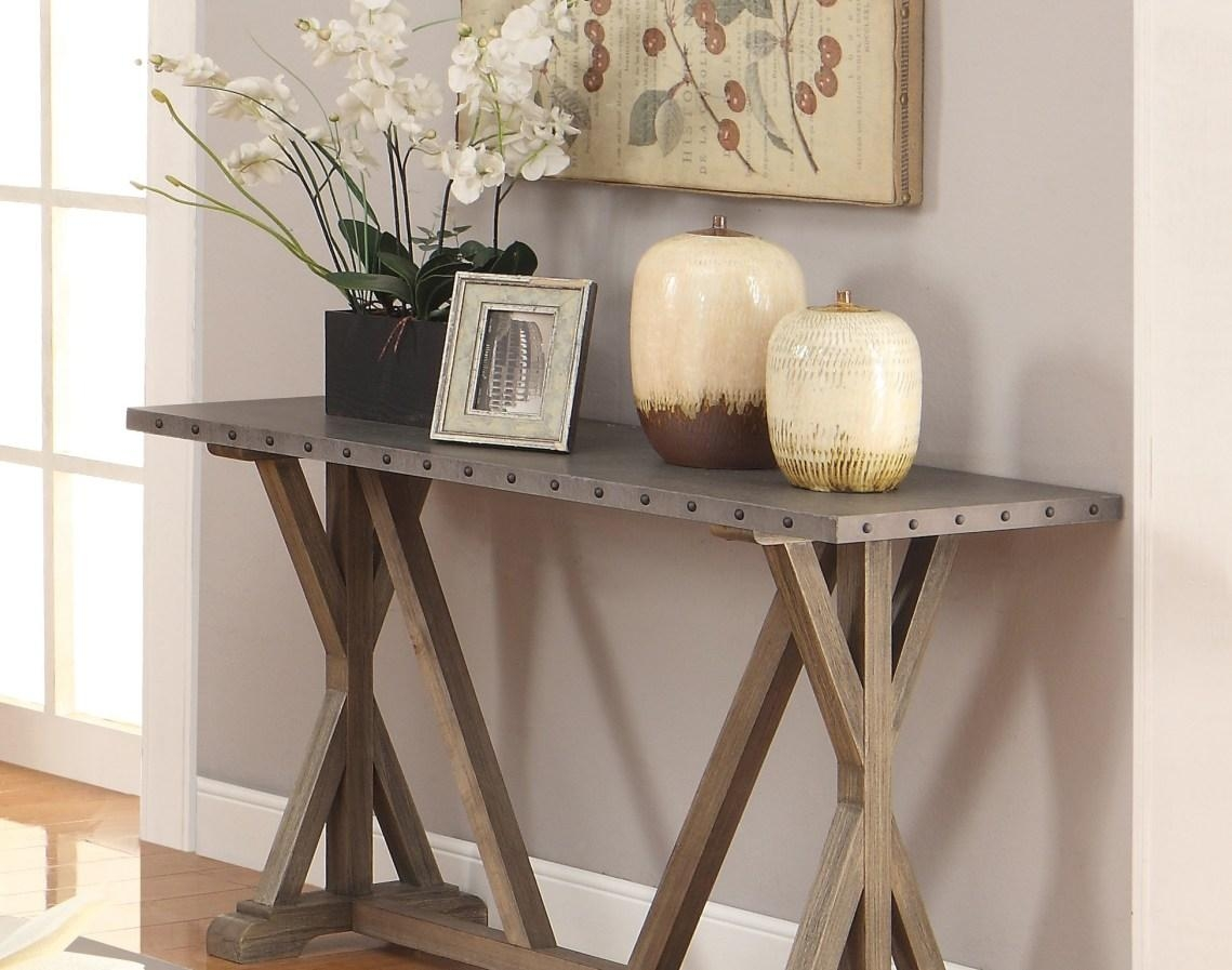 Sofa : New Life For A Rustic Sofa Table And Also Stunning Rustic Pertaining To Etsy Sofas (View 17 of 20)