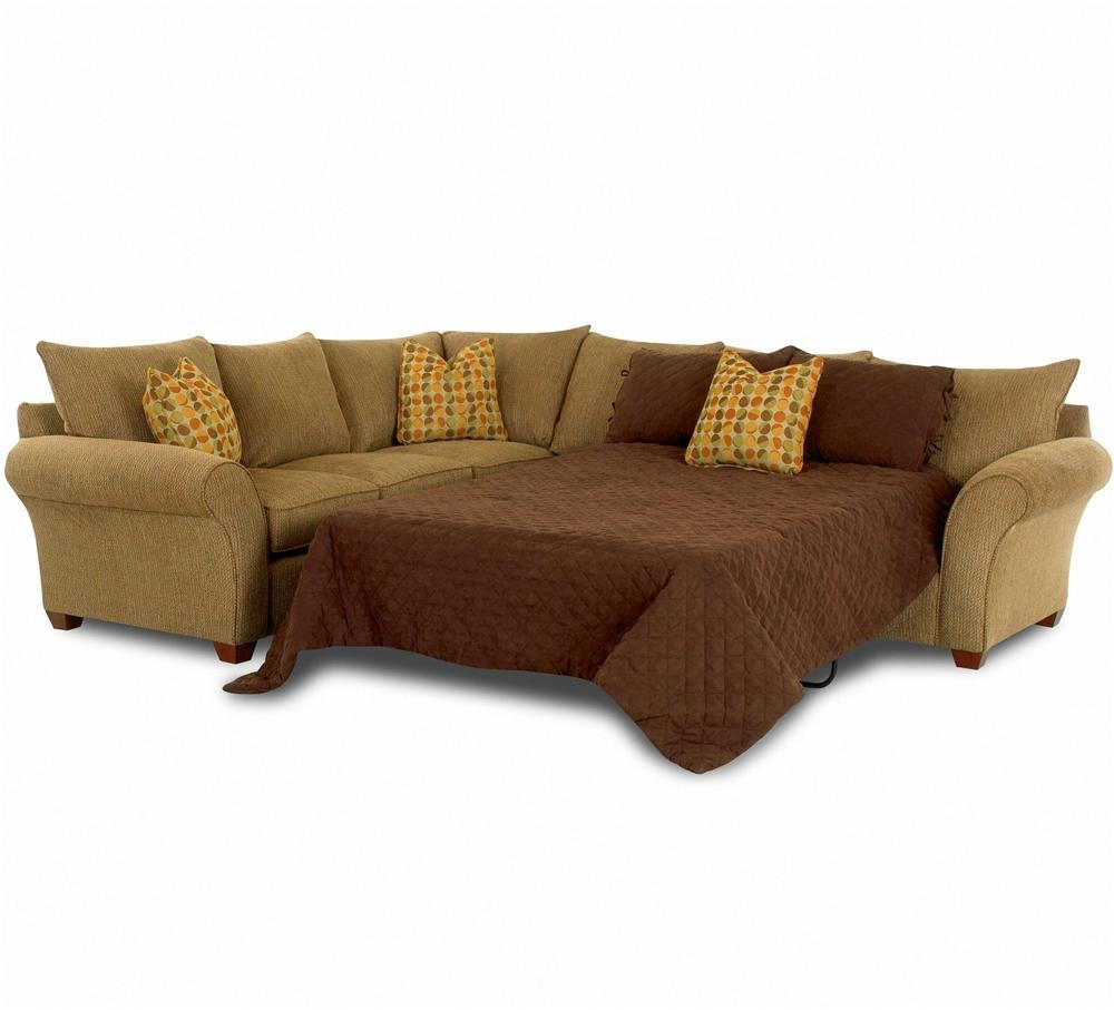 Sofa Sleeper Spacious Sectionalklaussner | Wolf And Gardiner With Sectional Sofa Beds (View 3 of 20)