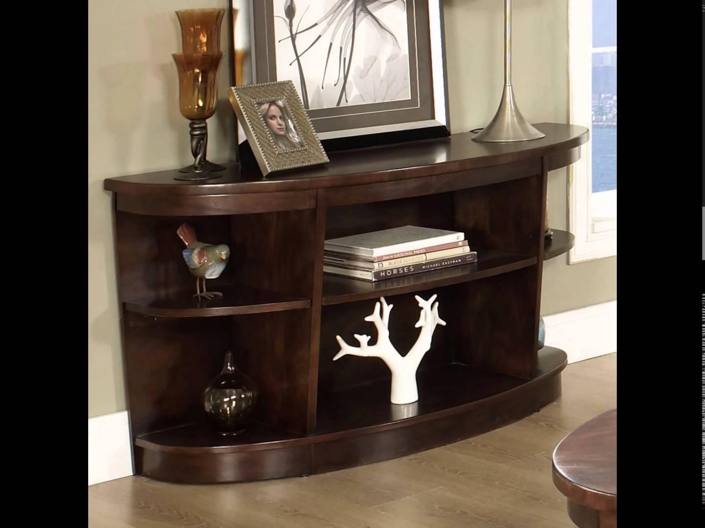 Sofa Table | Sofa Side Table | Sofa Table With Storage – Youtube For Sofa Side Tables With Storages (Image 23 of 25)
