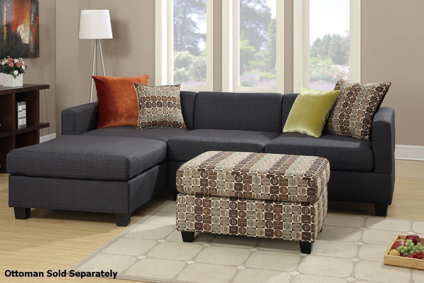 Sofas : Amazing Contemporary Sectional Sofas Small Sectional Within Cloth Sectional Sofas (View 7 of 21)