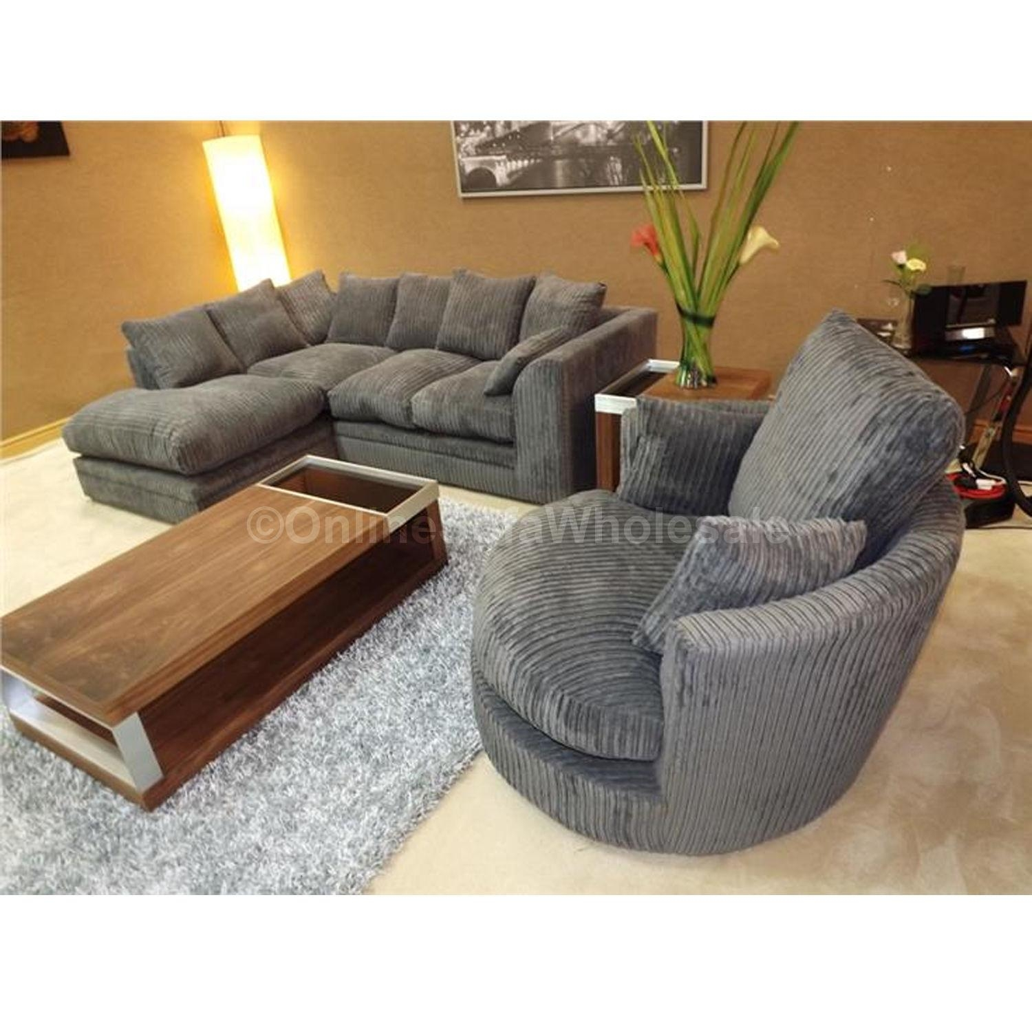 Sofas : Awesome Swivel Sofa Chair Oversized Round Swivel Chair In Chair Sofas (View 18 of 22)