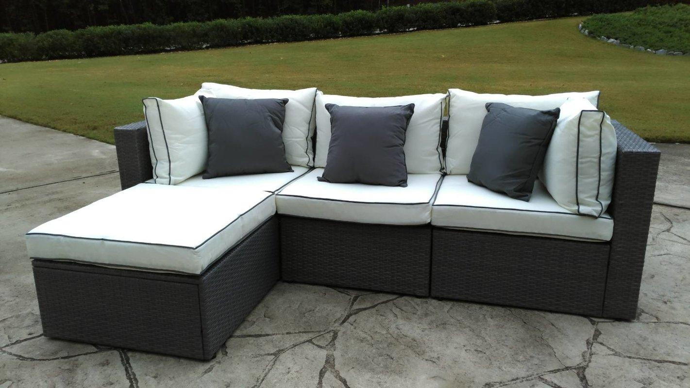 Sofas : Fabulous Outdoor Deep Seat Cushions Outdoor Sectional Regarding Cheap Patio Sofas (View 15 of 22)