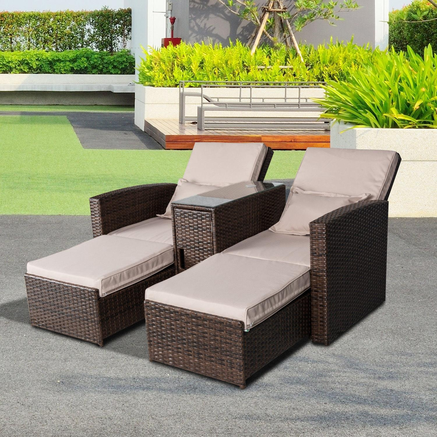 Sofas : Fabulous Patio Furniture Sets Black Wicker Outdoor With Modern Rattan Sofas (View 10 of 23)