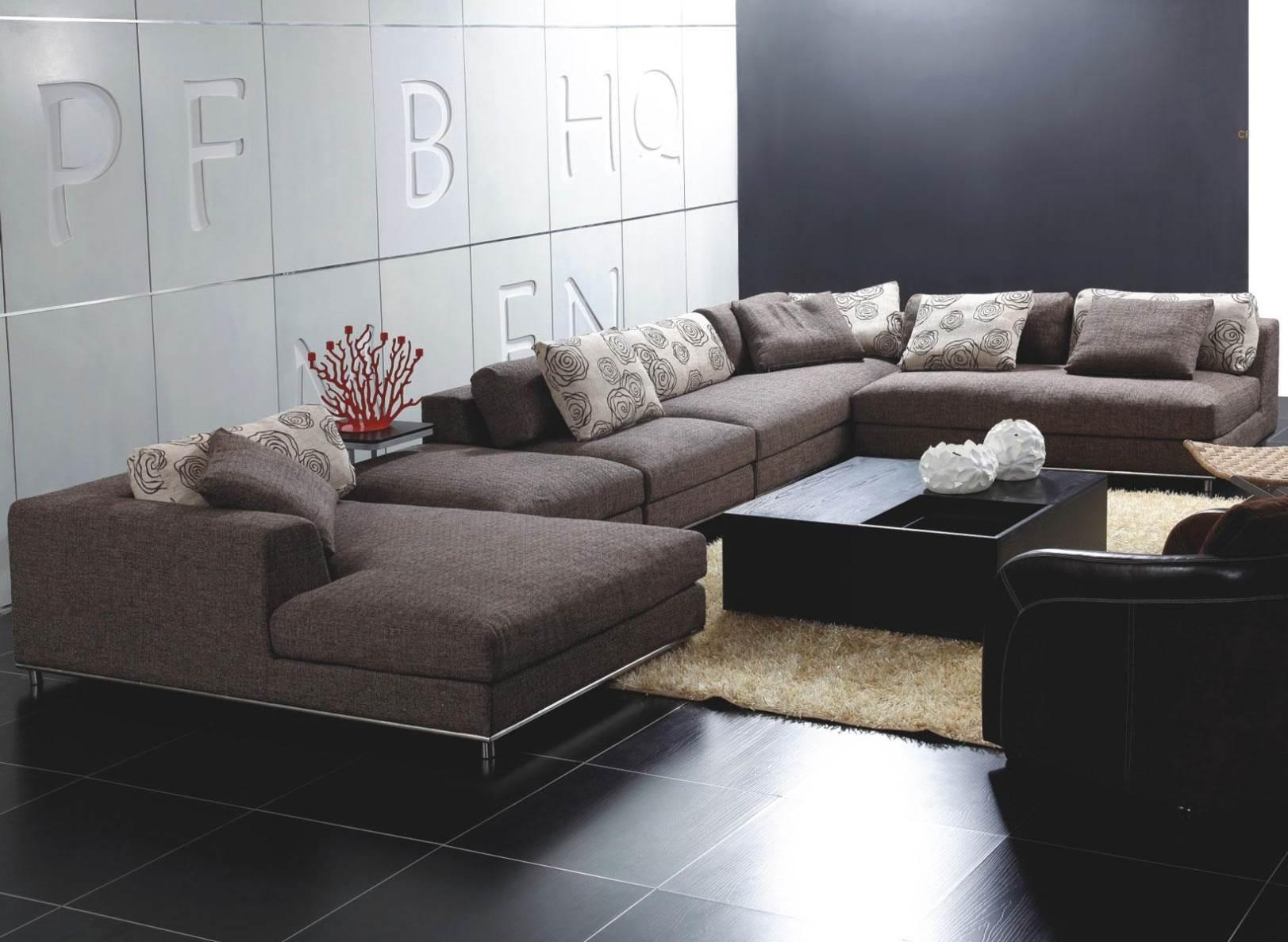 Sofas : Fabulous Red Leather Sectional Contemporary Leather Sofa In Red Sectional Sleeper Sofas (Image 21 of 22)