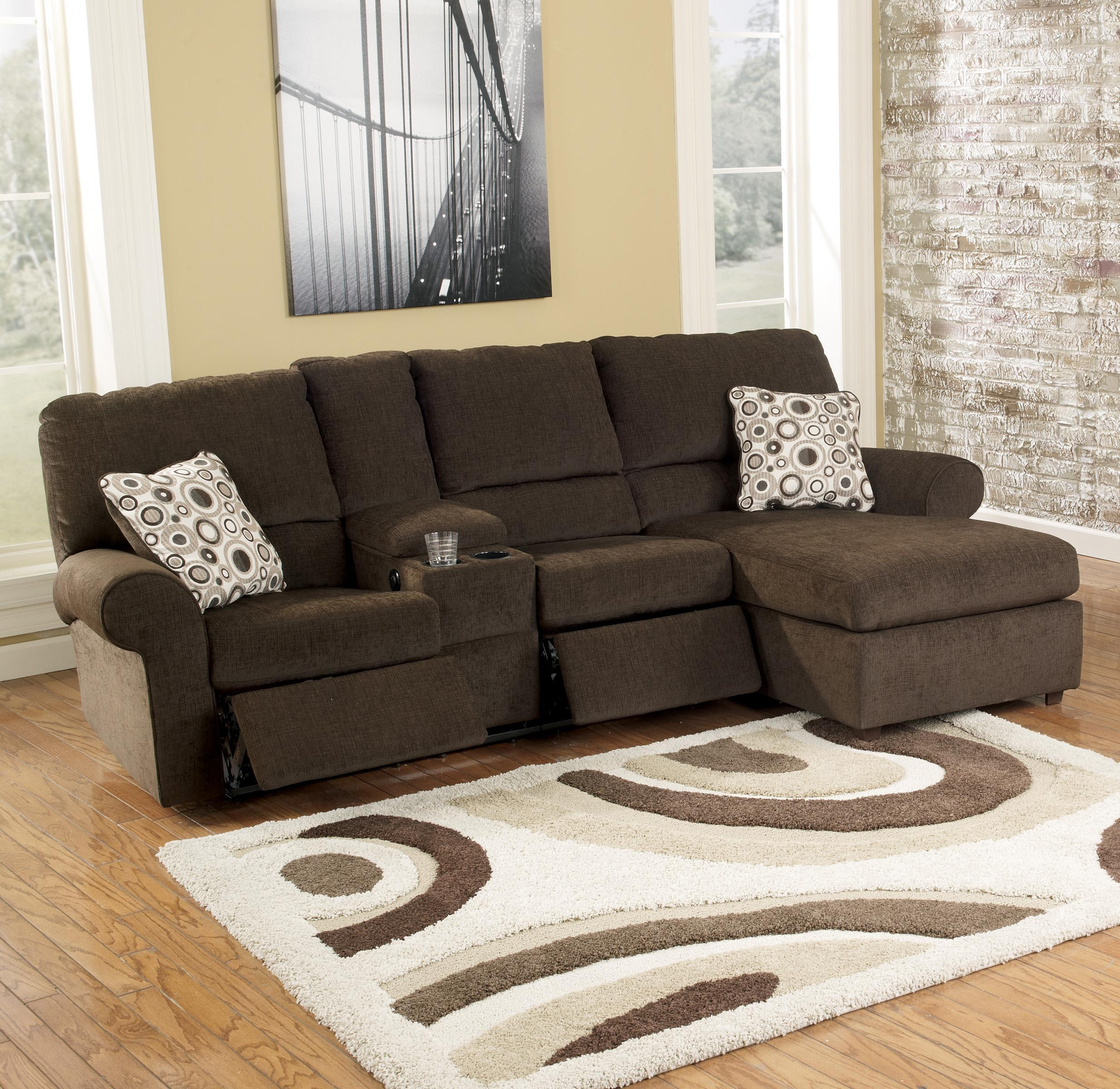 Sofas : Fabulous Sectional Sleeper Sofa Tan Leather Sectional Pertaining To Sectional Sofa Recliners (View 12 of 20)