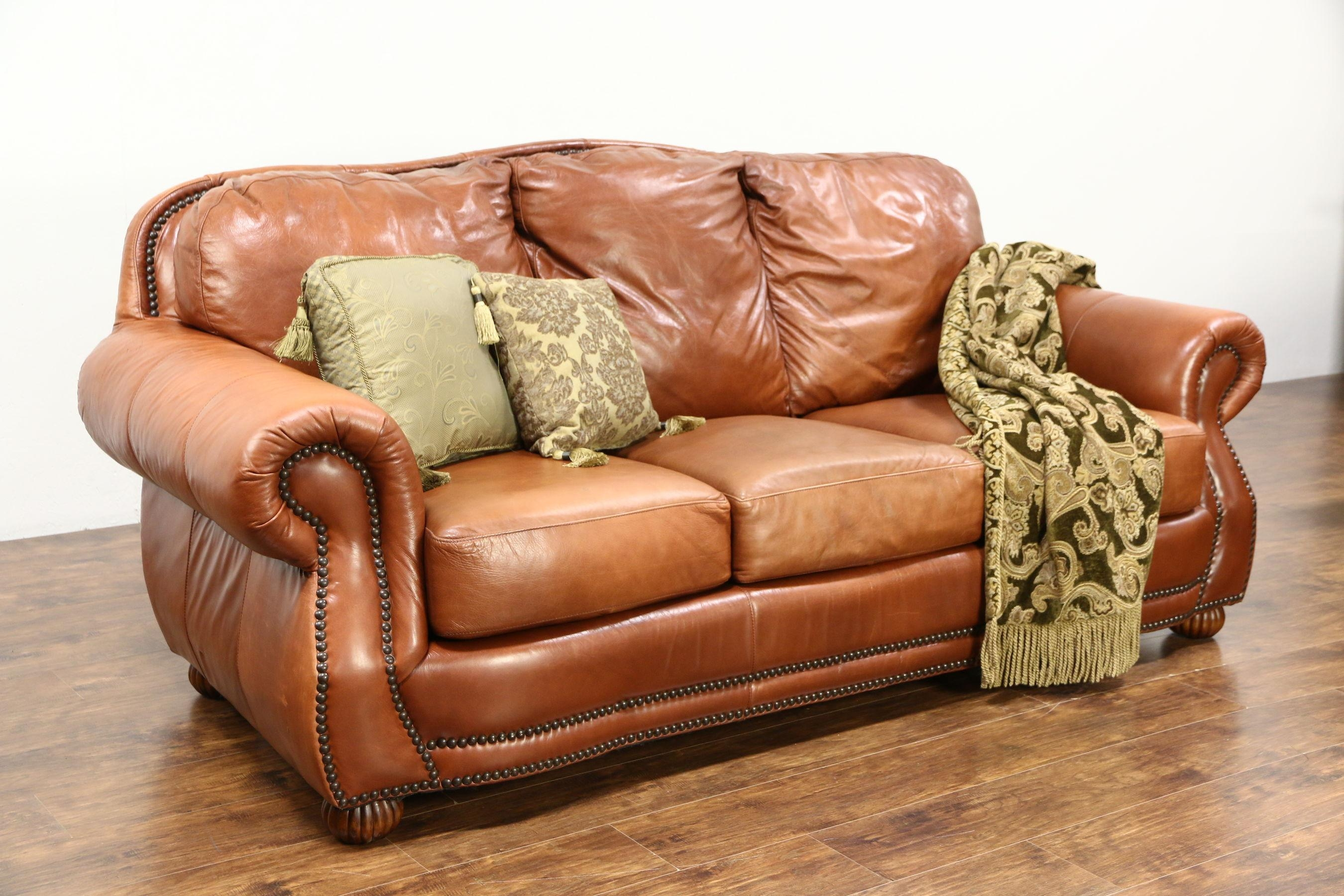Sofas : Marvelous Vintage Leather Sofa Black Leather Sofa Set Throughout Vintage Leather Sectional Sofas (Image 18 of 20)
