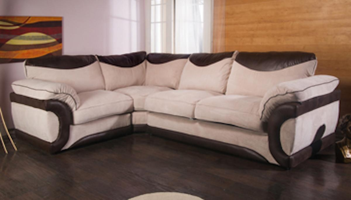 Sofas Uk Online | Centerfieldbar Regarding Small Brown Leather Corner Sofas (Image 19 of 21)