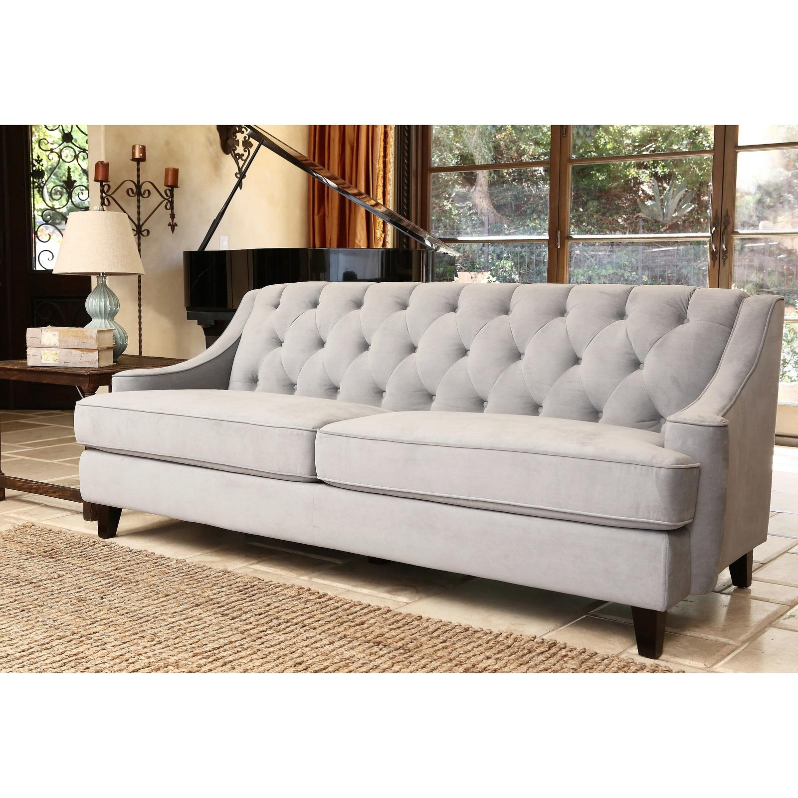 Sofas : Wonderful Modern Sectional Couches Cheap Sectionals L Pertaining To Cheap Tufted Sofas (View 19 of 23)