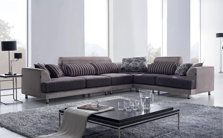 Sofas : Wonderful Modern Sectional Sofas Cheap Sectional Couch Throughout Cloth Sectional Sofas (View 9 of 21)