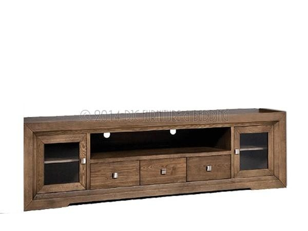 Soho Tv Unit Oak Veneer  (Image 10 of 20)