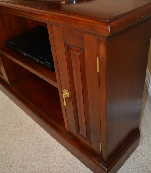 Solid Mahogany Corner Tv Unit Cbn002 – Lock Stock & Barrel In Most Popular Mahogany Corner Tv Cabinets (View 11 of 20)