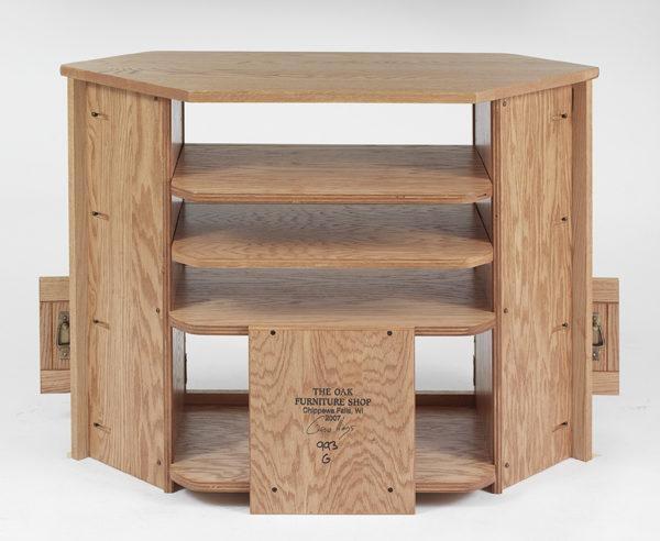 Solid Oak Tv Cabinet Deal Alert Solid Oak Tv Stands (Image 15 of 20)