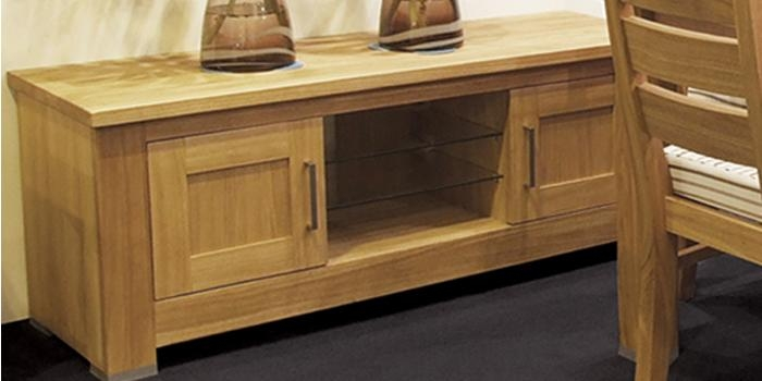 Solid Oak Tv Stands | Solid Oak Tv Cabinets | Solid Wood Tv Stands In Current Oak Tv Cabinets With Doors (View 18 of 20)