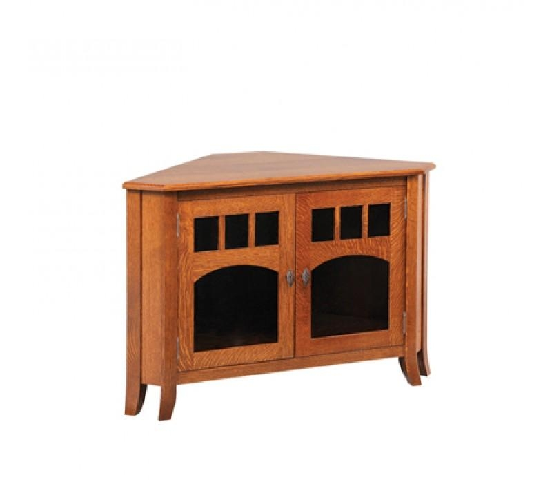 Solid Wood Corner Tv Stands Rustic Corner Tv Stand Solid Wood Unit With Regard To Current Solid Wood Corner Tv Cabinets (View 12 of 20)