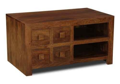 Solid Wood Mango Tv Units | Trade Furniture Company™ Within Most Recent Mango Tv Units (Image 16 of 20)