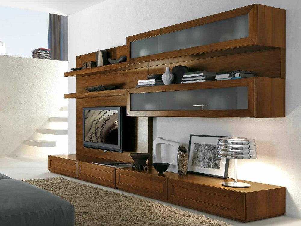 Solid Wood Tv Entertainment Unit Inside 2017 Tv Entertainment Unit (Image 15 of 20)