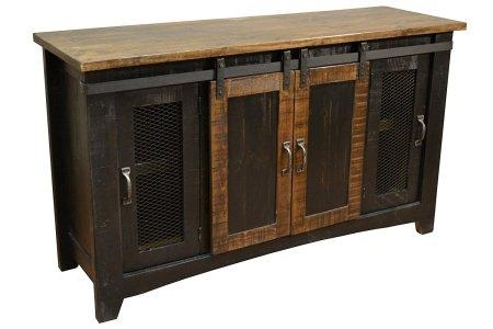 Solid Wood Tv Stands: 6 Gorgeous Real Wood Large Tv Cabinets – Tv With Current Solid Oak Tv Cabinets (Image 18 of 20)