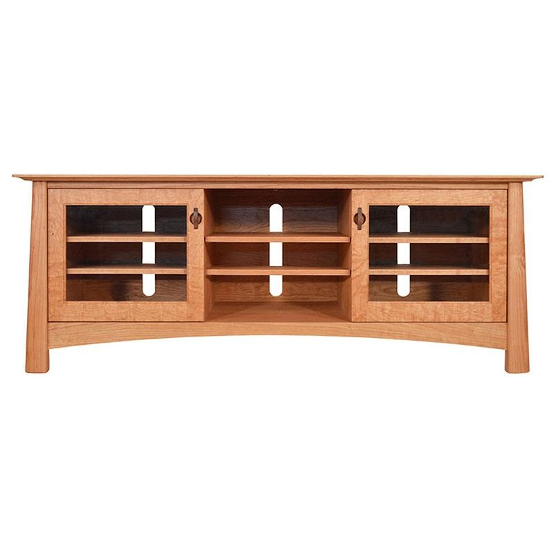 Solid Wood Tv Stands & Media Consoles – Vermont Woods Studios Regarding Current Cherry Wood Tv Stands (View 18 of 20)